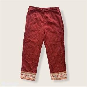 April Cornell Pin Stripe Capri Pants